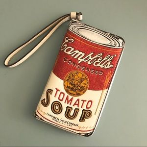 Used Coach Campbell's Soup Wristlet